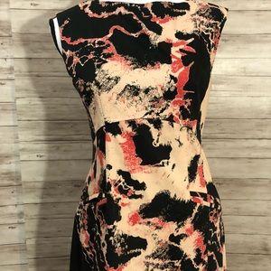 French Connection Splash Stroke Dress A60